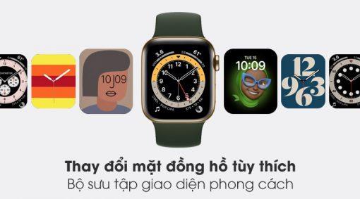 apple watch s6 lte 40mm vien thep day cao su writee 4