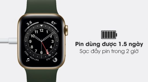 apple watch s6 lte 40mm vien thep day cao su writee 5