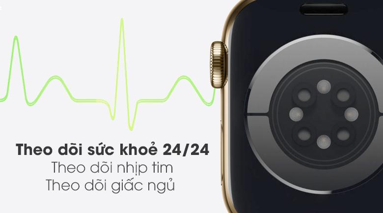 apple watch s6 lte 40mm vien thep day cao su writee 6