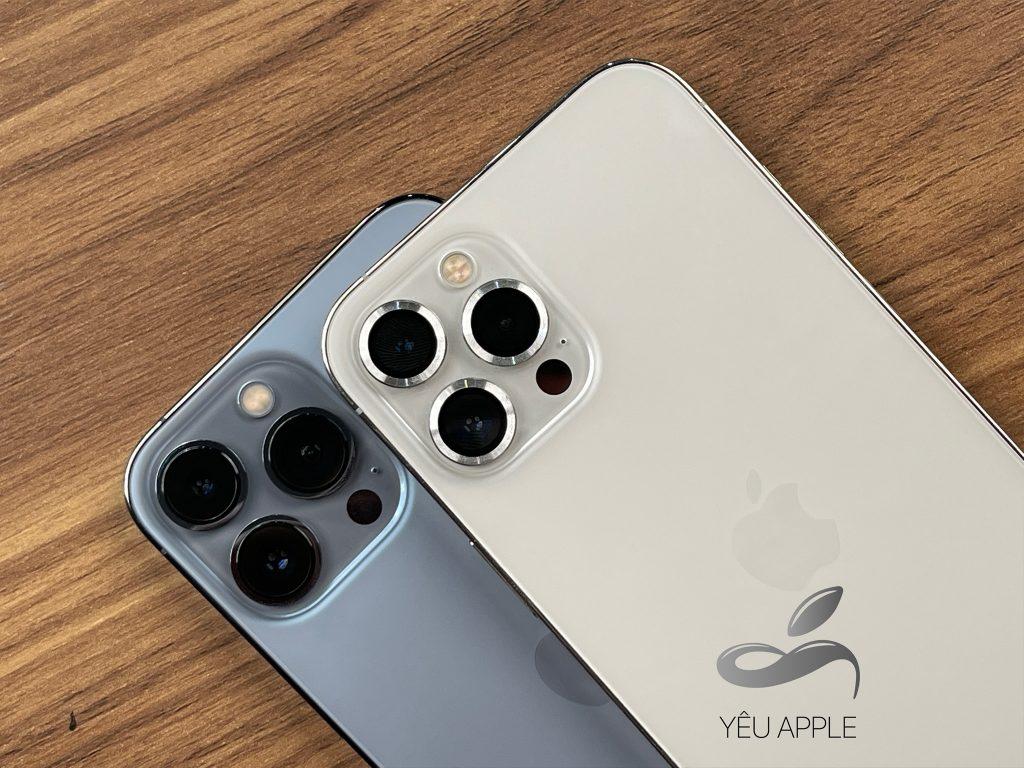 camera iphone 13 so sanh