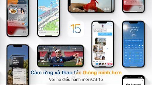 vi vn iphone 13 pro max slider ios15